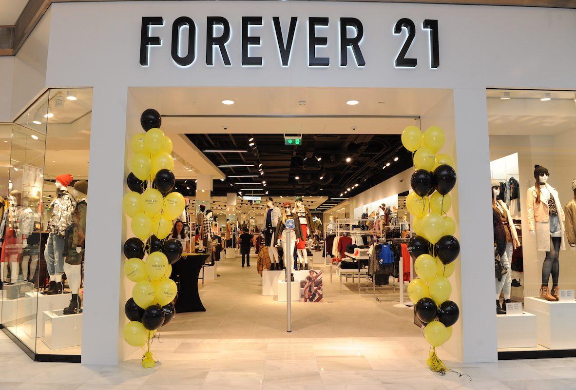 Prodejna Forever 21 - Černý Most