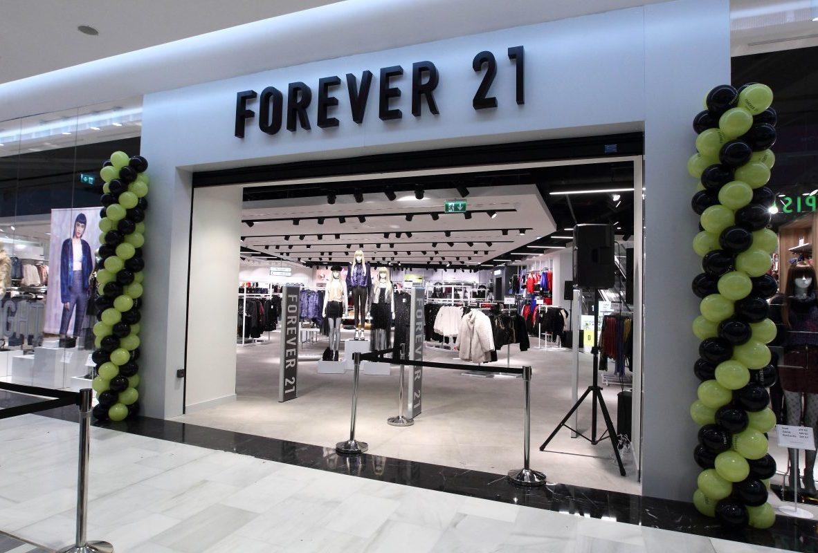 prodejna Forever 21 CENTRUM CHODOV
